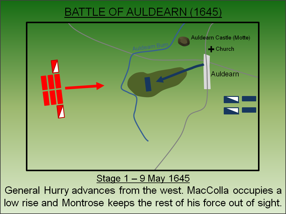 Battle of Auldearn (1645) | Scotland (1644-46) | Wars of Three Kingdoms